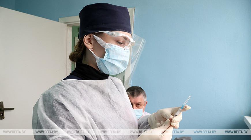 В Беларуси идет массовая вакцинация от COVID-19