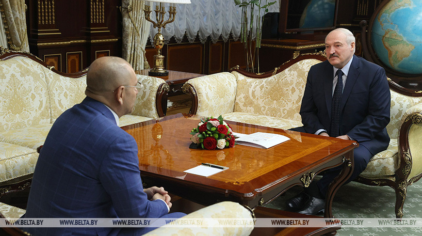 Лукашенко встретился с депутатом Верховной рады Украины Евгением Шевченко