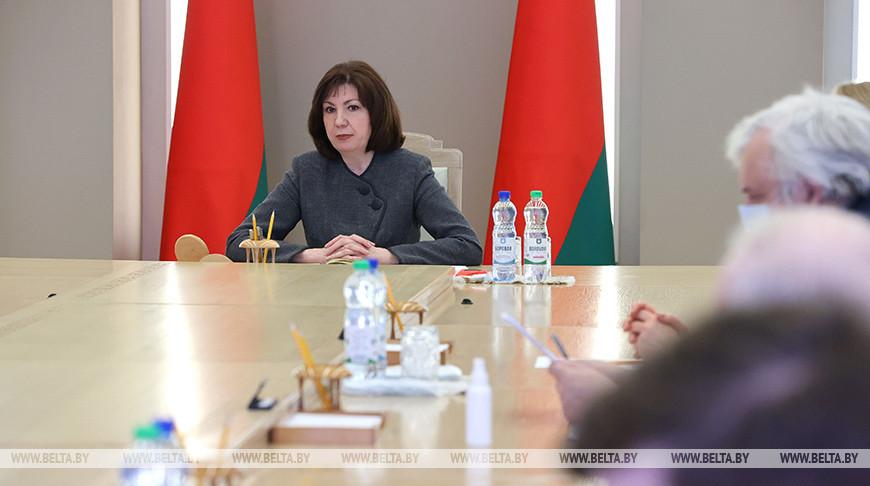 Кочанова провела совещание с представителями Минздрава и работниками медучреждений