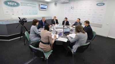 """Заседание """"Экспертной среды"""" по преодолению последствий катастрофы на Чернобыльской АЭС прошло в БЕЛТА"""