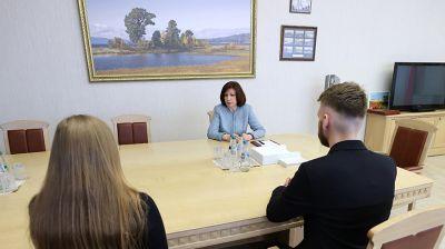 """Кочанова встретилась с финалистами конкурса """"Команда будущего"""""""