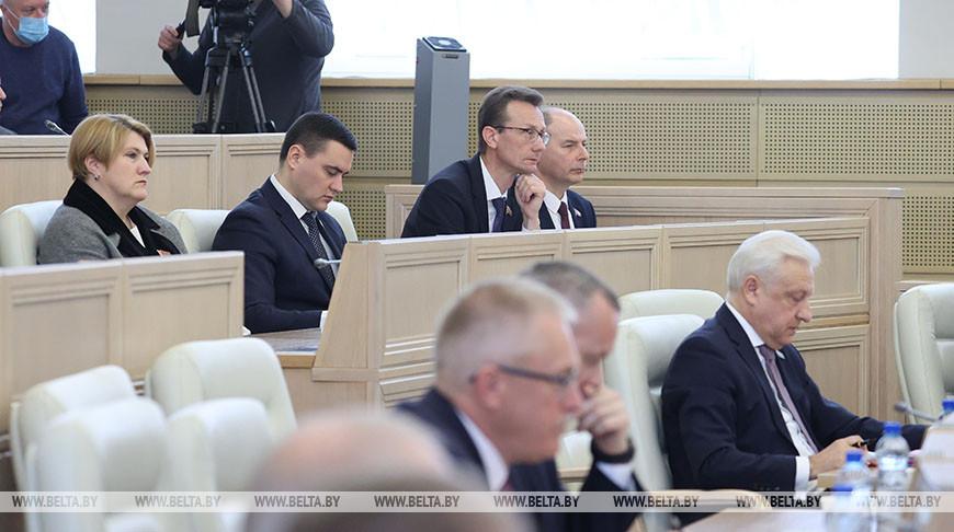 Совет Республики одобрил законопроект о недопущении реабилитации нацизма