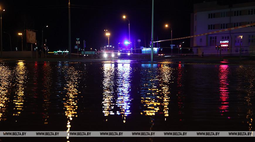 В Минске из-за аварии без воды оставались три района