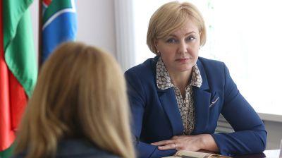 Чуприс провела прием граждан в Черикове