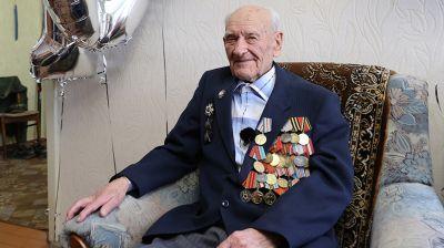 Ветеран Великой Отечественной войны Иван Курындин отмечает 100-летний юбилей