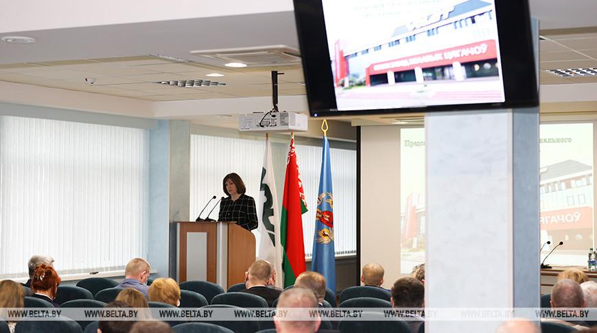 Кочанова провела встречу с коллективом МЗКТ