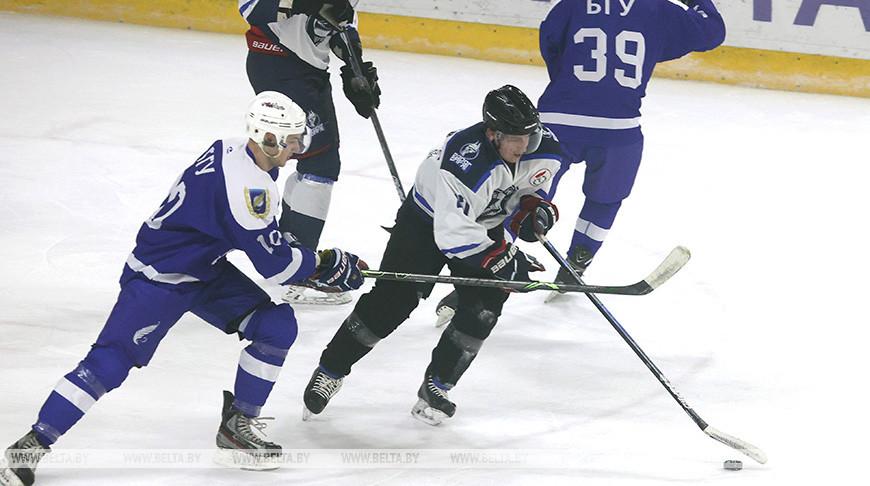 Республиканская универсиада по хоккею стартовала в Новополоцке