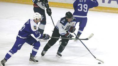 Республиканская универсиада по хоккею с шайбой стартовала в Новополоцке