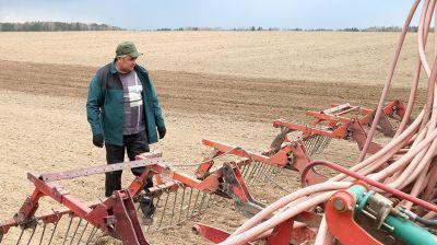 В Чериковском районе завершается сев ранних зерновых культур