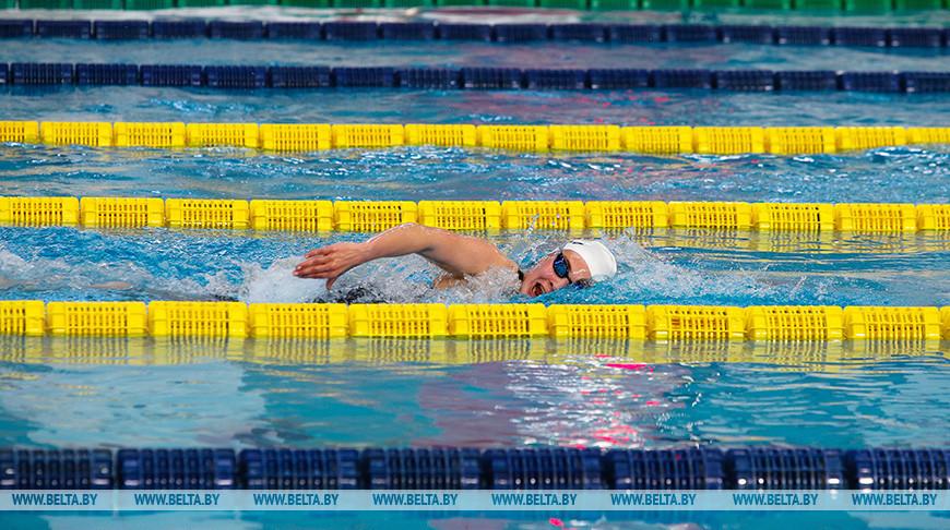 Открытый чемпионат Беларуси по плаванию проходит в Бресте