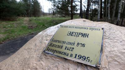 Веприн - одна из отселенных деревень Чериковского района