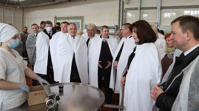 Кочанова: у белорусских предприятий есть все необходимое для создания конкурентоспособной продукции
