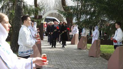 Митинг-реквием памяти захороненных деревень прошел в Славгороде