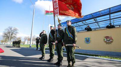 Церемония чествования и увольнения в запас десантников прошла в Бресте