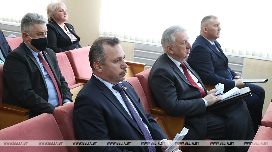 Заседание Совета по взаимодействию органов местного самоуправления прошло в Славгороде