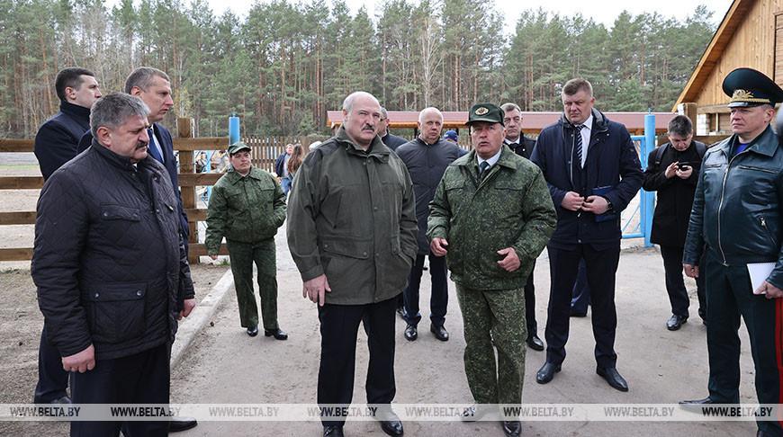 Лукашенко посетил Полесский радиационно-экологический заповедник