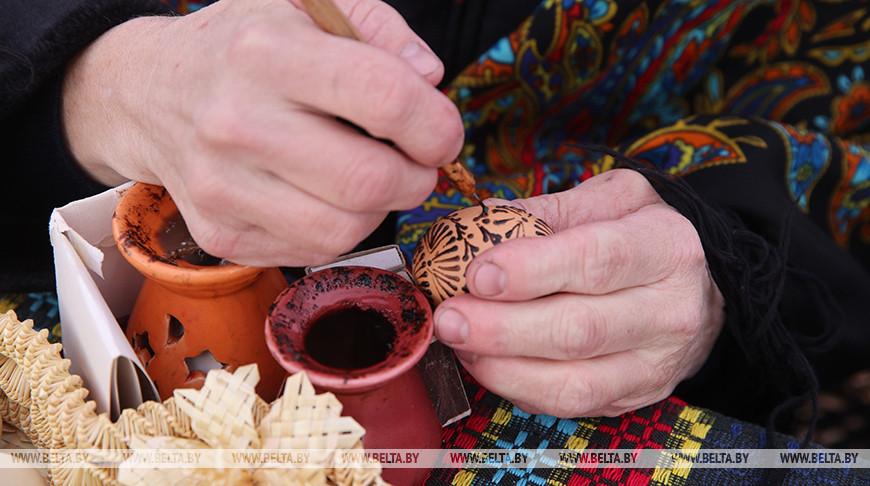 Пасхальные традиции представили на ремесленной ярмарке в Гродно