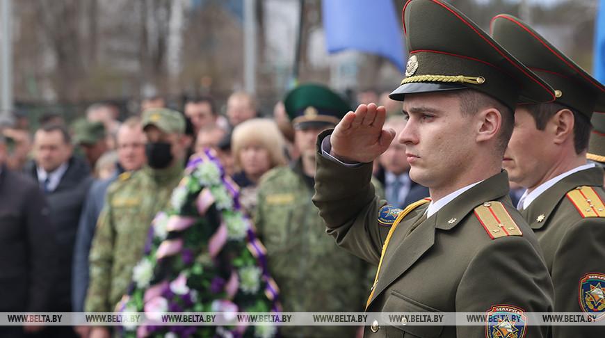 Митинг, посвященный годовщине со дня катастрофы на ЧАЭС, прошел в Хойниках
