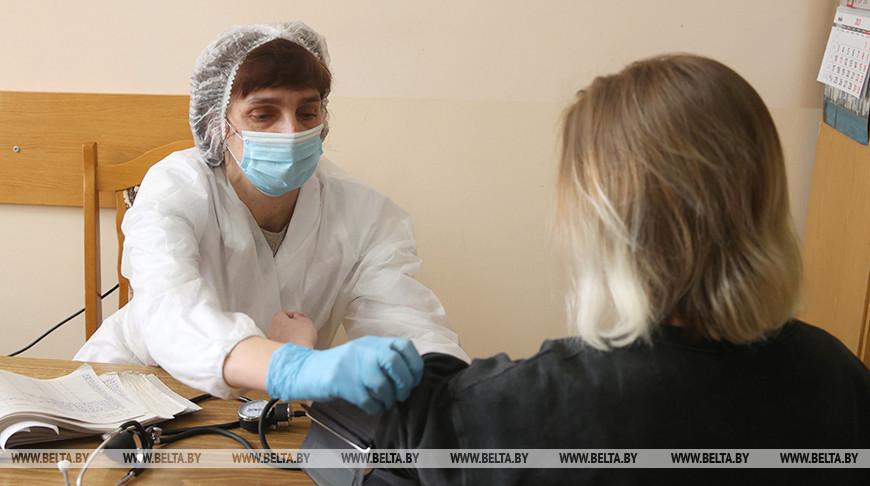Гродненских студентов прививают от коронавируса