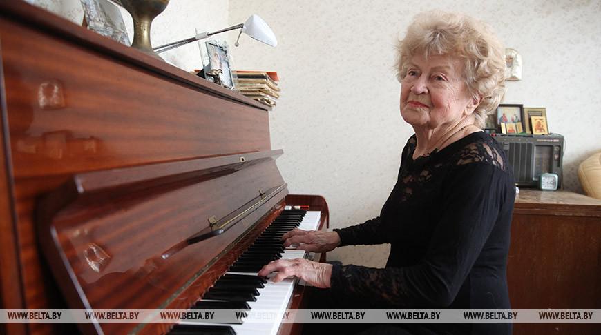 Ветеран Великой Отечественной войны Валентина Баранова