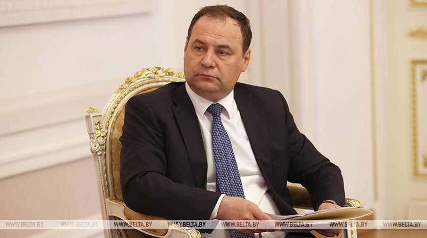 Головченко встретился с премьер-министром Таджикистана