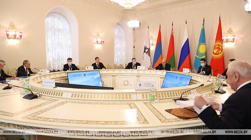 Заседание Евразийского межправсовета в узком состае прошло в Казани