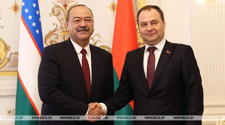 Головченко встретился с премьер-министром Узбекистана