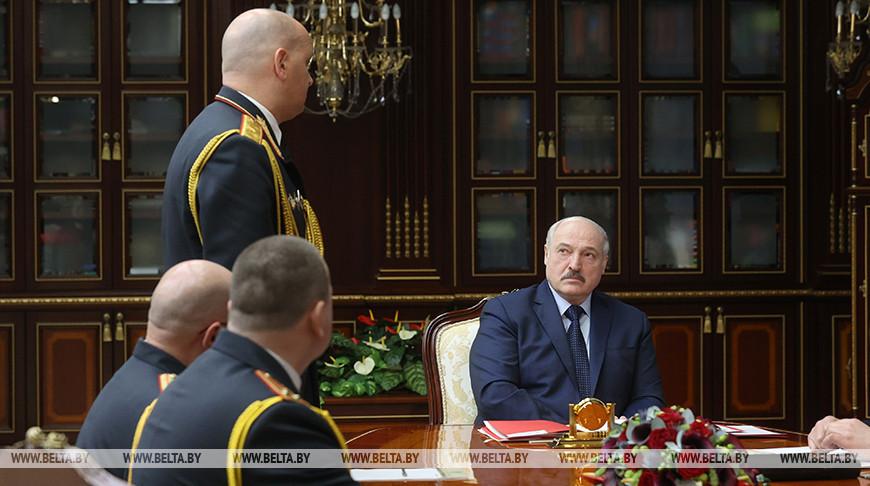 Лукашенко назначил новых начальников милиции в Минской, Брестской и Гродненской областях