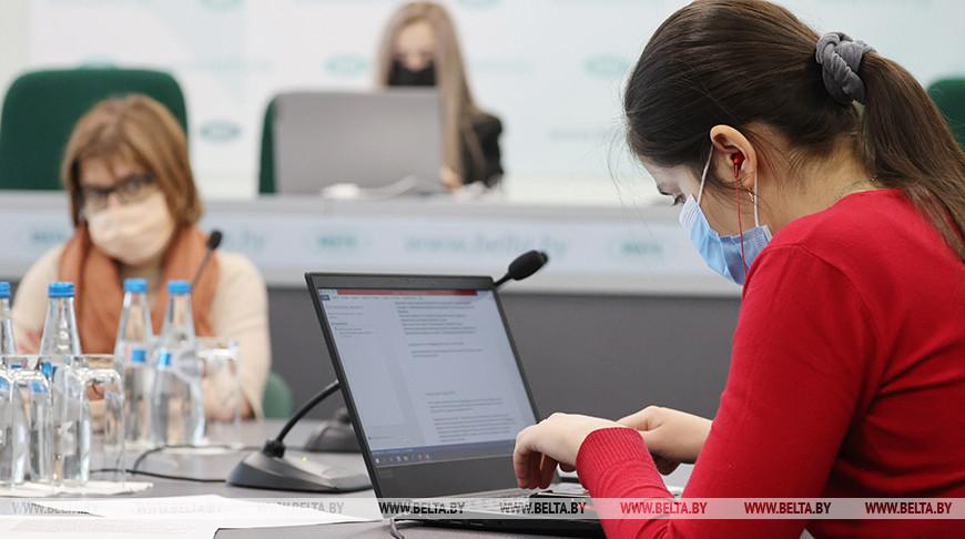 В пресс-центре БЕЛТА СМИ наблюдают за общественными слушаниями по лицензии для БелАЭС
