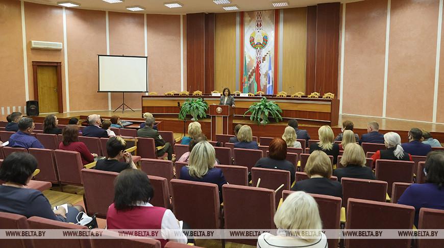 Кочанова встретилась с педагогическим активом Новополоцка и Полоцка