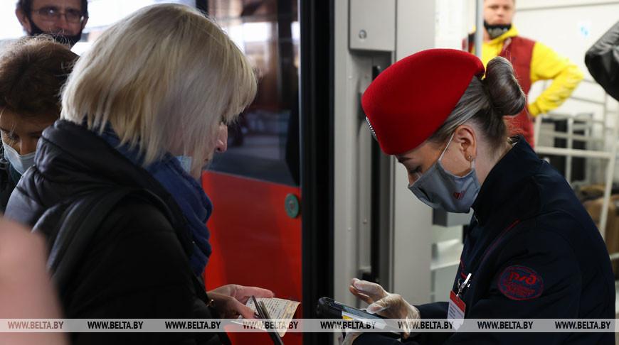 Скоростное пассажирское сообщение открылось между Минском и Москвой