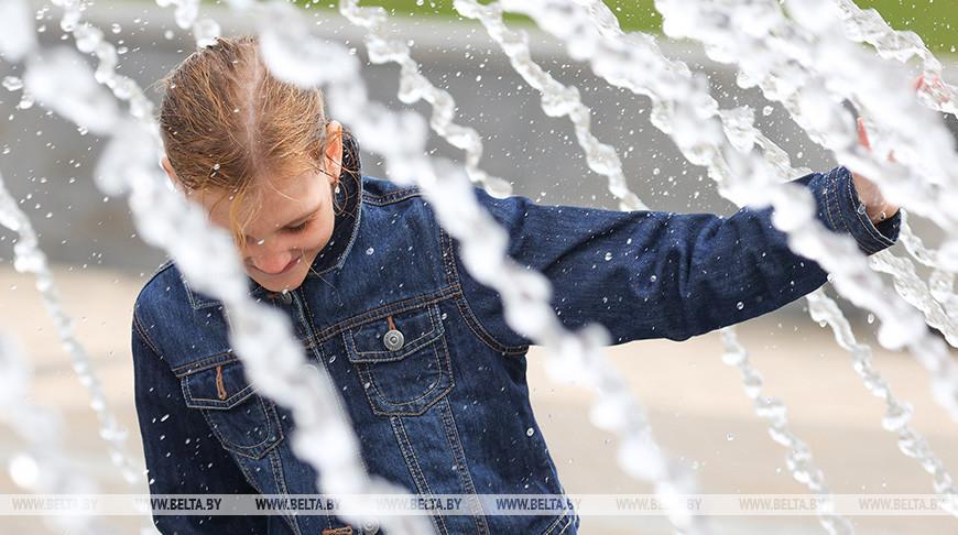 В Минске открылся сезон фонтанов