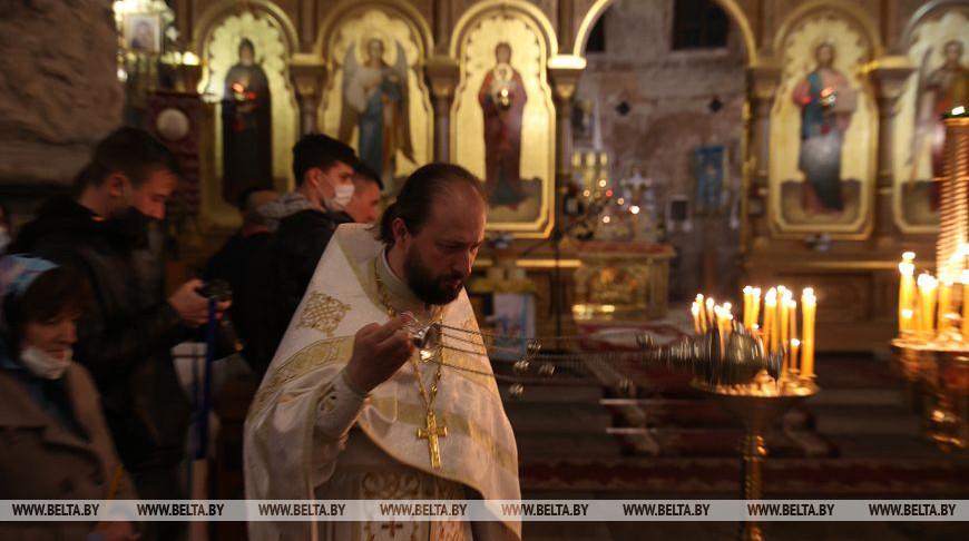 Праздничные богослужения прошли в Свято-Николаевском гарнизонном соборе в Бресте