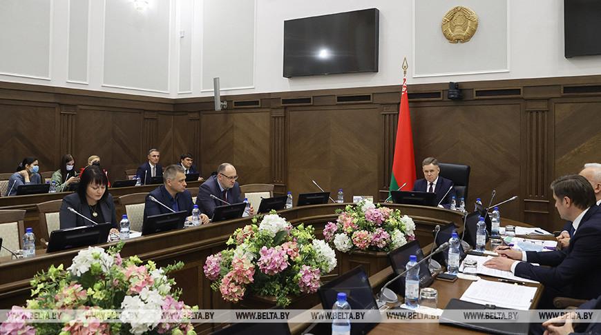 Петришенко провел заседание оргкомитета для подготовки национальной экспозиции на ЭКСПО-2020 в Дубае