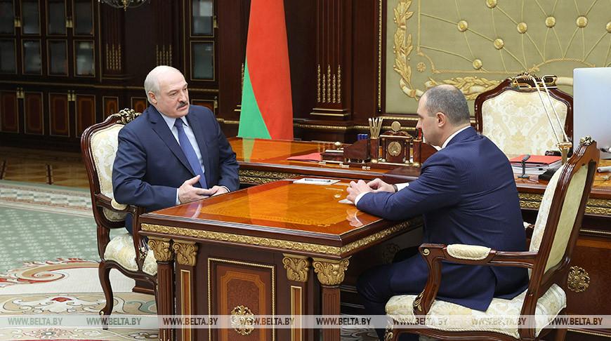 Лукашенко обсудил с президентом НОК подготовку белорусских спортсменов к Олимпиаде в Токио