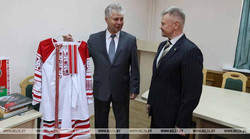 Румак встретился с зампредседателя Всеукраинского союза белорусов