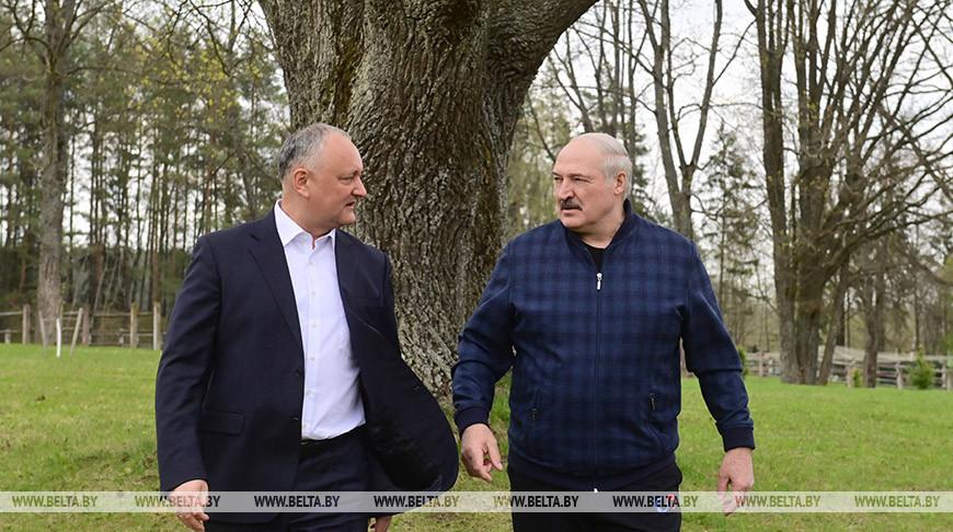 Лукашенко провел встречу с Додоном