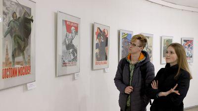 Две выставки, посвященные Великой Отечественной войне, открылись в витебской ратуше