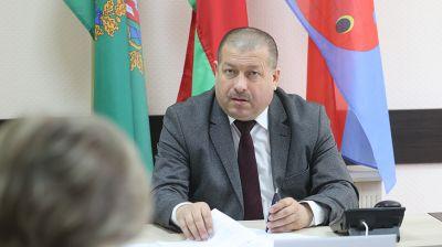 Линевич провел прием граждан в Витебском райисполкоме