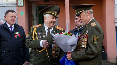Ветерана войны Бронислава Карпенко поздравили с Днем Победы