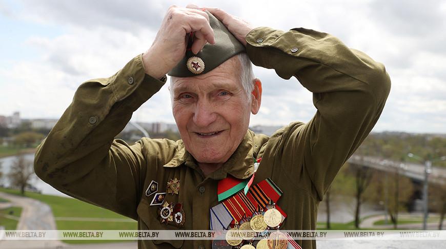 Ветеран Великой Отечественной войны Андрей Андрейчиков