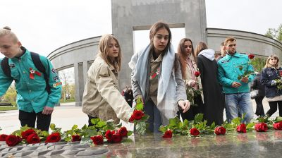 """Патриотическая акция """"Их именами названы студенческие отряды"""" стартовала в Беларуси"""