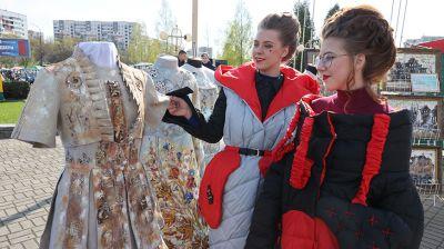 """Традиционная выставка-ярмарка """"Вясновы карагод"""" прошла в Витебске"""