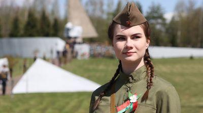 Митинг-реквием у памятника погибшим в войну сотрудникам милиции прошел в Могилевском районе