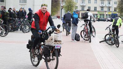 Городской велопробег прошел в Могилеве