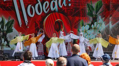"""Концерт """"Моя весна! Моя Победа!"""" проходит у Дворца спорта в Минске"""
