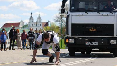 Турнир по силовому экстриму Minsk Strong Battle прошел в Минске
