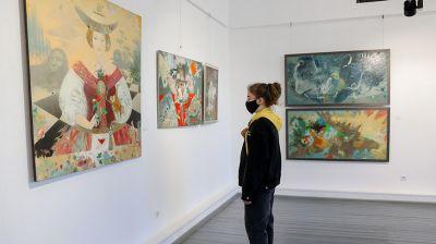 Выставка живописи Елены Шлегель открылась в НЦСИ