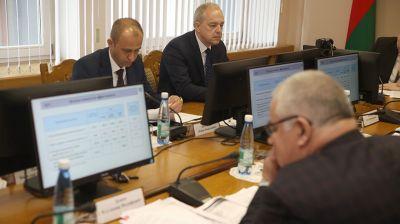 Сергеенко принял участие в заседании Гродненского облисполкома