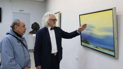 Выставка Владимира Прокопцова открылась в Витебском госуниверситете